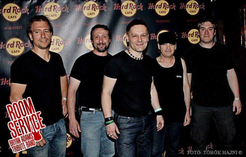 Room Service - Bryan Adams tribute band | Rockbook.hu