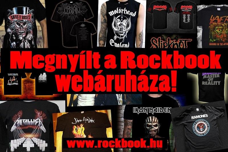 a65bf8be8f Megnyílt a Rockbook webáruháza! Zenekaros ruházat, kiegészítők és sok  más.Nézzetek be hozzánk!