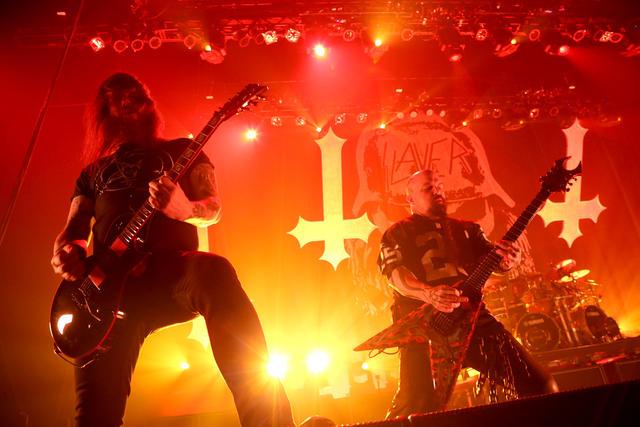 Atomháborút szabadít el a színpadon a Slayer