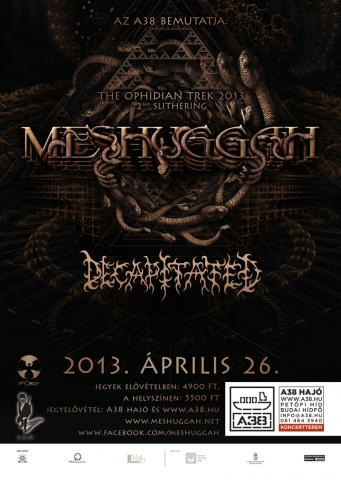 The Ophidian Trek - Meshuggah | Songs, Reviews, Credits ...